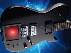 Manson Guitars MB-1 Matt Bellamy signature guitar adds an Y-Y MIDI controller. It is set up to use with Korg's KP-3 Kaoss pad and Digitech's Whammy pedal out of the box.