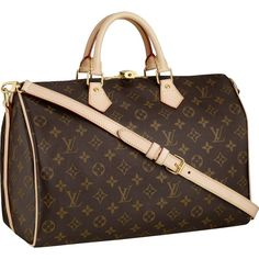 I finally got this, thanks momma! Louis Vuitton Speedy 35 Monogram Canvas