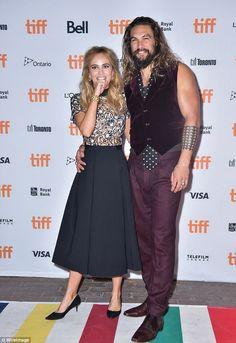 Co-stars: Jason has spent the last few days promoting his latest movie, The Bad Batch, alongside  Suki Waterhouse at the Toronto International Film Festival