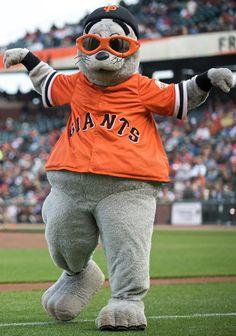 sf giants mascot go giants - Google Search