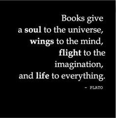 Book Quotes Collection for Book Lovers and Book Worms - 4 I Love Books, Good Books, Books To Read, Buy Books, Quotes For Book Lovers, Me Quotes, Quotes Images, Plato Quotes, Book Sayings