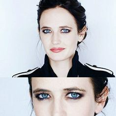 • I couldn't resist adding a close-up of those hypnotic eyes. They're so magnetic, and you're so welcome   Eva photographed by Jeff Vespa© {#evagreen}