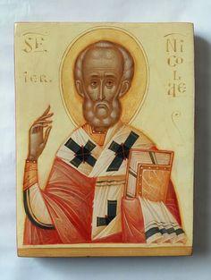 Byzantine Icons, Orthodox Icons, Religious Art, Gabriel, Saints, Christ, Decorative Boxes, Objects, Images