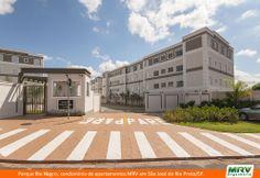 Paisagismo do Rio Negro. Condomínio fechado de apartamentos localizado em São José do Rio Preto / SP.