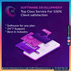 Software Development Top class service for 100% client satisfaction SOFTWARE DEVELOPMENT * Software for any plan * 24*7 Support * Best in Industry Call ☎️ at : +91-9015-799-394, +91-9910-852-232 . . #software #softwaredevelopment #softwaredesign #development #technology #developer #customsoftware #webdesign #websitedevelopment #startup #website #schoolsoftware #erpsoftware #hrmsoftware #ecommerce #businessapp #business #itcompany #branding Software Development, Ecommerce, Web Design, Management, Cards Against Humanity, Branding, Technology, How To Plan, Website