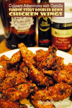 Sumpin' Stout Doubled Down Chicken Wings for
