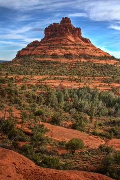 Bell Rock, Sedona, Arizona - worth the trip to drive through or stop and visit.