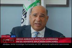 Ministro Medio Ambiente Investiga Humareda En SD; Advierte Aplicarán Sanciones #Video