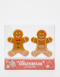 Image 3 of Mr & Mrs Gingerbread Lip Balm Duo