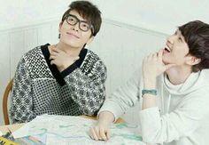 Eunhyuk and Donghae #eunhae