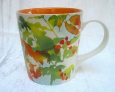 21ef05cd8e5 Starbucks Coffee Mug 2008 Autumn Leaves Print 14 oz This Starbucks Coffee  Mug is the perfect
