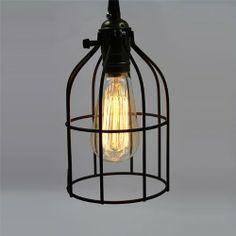 Ecopower Vintage Style Industrial Hanging Light Mini Pendant Cage Wire Lamp Guard Black Ecopower Lighting,http://www.amazon.com/dp/B00IX7HPZU/ref=cm_sw_r_pi_dp_.3Rxtb0KWV181HBK