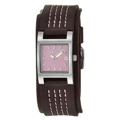 Pink and brown.  Nixon Women's 'The Trixie' Stainless Steel Quartz Watch | Overstock.com Shopping - Big Discounts on Nixon Women's Nixon Watches