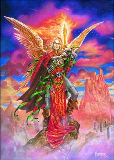 Archangel Michael by Briar