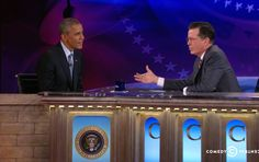 """Despite """"Colbert's"""" well-documented distaste for the president, he mostly kept things pretty softball"""