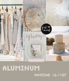 aluminum wedding color,autumn wedding colors,pantone fall 2014 wedding colors,wedding colors,wedding palette,wedding colors 2014,autumn wedd...