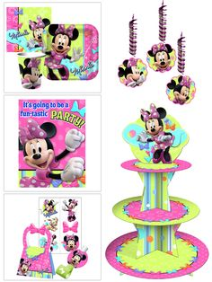 Boutique 1st Birthday Party Ideas With Minnie Mouse Bow Tique Decorations