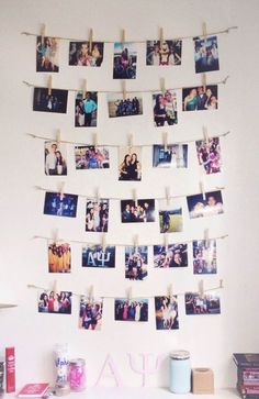 college dorm room ♡ alpha psi ♡ clothespin: