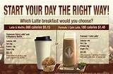 Healthy Breakfast? Compare the calories and nutrition.  I love herbalife healthy meal shake.