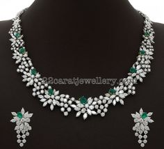 Very Unique Diamond Choker - Jewellery Designs
