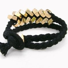Break away from the pack with this unique and edgy bracelet.