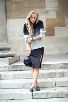 h&m; divided knit  h&m; trend leather skirt  ebay cap  kurt geiger shoes  44 mm rose gold skywatch  kurt geiger bracelet