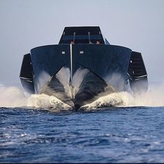 The Wally 118 powered by 3 gas turbine engines that produce 17,000hp.