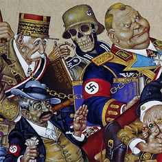 The Art and Politics of Arthur Szyk Poster Pictures, Art Pictures, Modern History, Art History, Grimm's Fairy Tales Book, Arte Judaica, Holocaust Memorial, Memorial Museum, Political Art