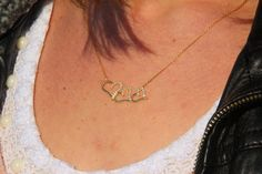 Silver Three Hearts Necklaces Gold Filled Silver by GozdyJewelry