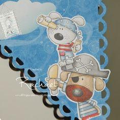 DT Inspiration - Pirate Puppy - All Dressed up Challenge blog: Challenge 57