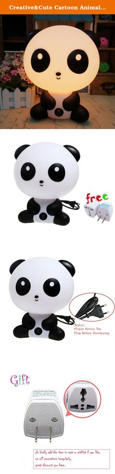 Creative&Cute Cartoon Animals LED Bed Desk&Table Light,KungFu Panda Rabbit Dog Bear Kids Night Light Sleeping Lights,Perfect Gift for Baby&Children&Kids. Our baby product series toys approved all of U.S. and European regulatory standards for child & Baby safety.CE&FDA approved.High quality and more safe and reliable for the kid&baby . Easy&funny Baby sleeping time!!! High quality and Eco-Friendly ABS And HIPS material;The warm night light is the most suitable choice for baby and children...
