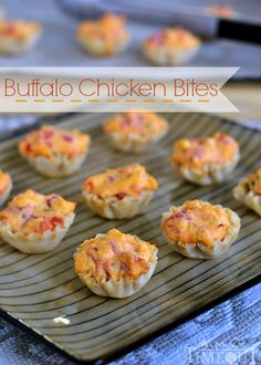 Buffalo Chicken Bites | MomOnTimeout.com