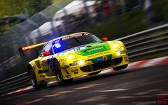 Photograph Porsche 997 GT3-RSR Manthey Racing by Shurazero Hide Ishiura /  StudioZero.de on 500px