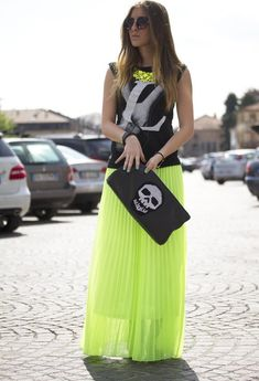 Check out this maxi skirt street style inpo - http://dropdeadgorgeousdaily.com/2014/03/how-we-wear-5/