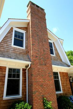 Huntting Chimney  exterior