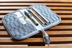 Zakka Style Zip Organizer by Masko Jefferson, part of the Zakka Style book by Rashida Coleman-Hale.