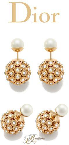 56d01bd81358c4 Brilliant Luxury * Dior Earrings 2015 Dior Jewelry, Luxury Jewelry, Modern  Jewelry, Pearl