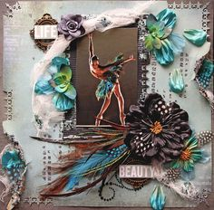 My Glitter Coated Life: The Good Life~Scraps Of Darkness Design Team Reveal~