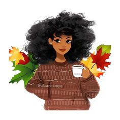 Made it back home to Detroit to spend the holiday with my family! Now to sit back relax sip some coffee and spend time with my crazy fam-bam!  Art by @illustration315 what's your plans for the day? #coffeetimeillustration