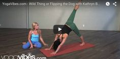 #YouTubeTuesday: Kathryn Budig's Wild Thing or Flipping the Dog