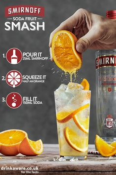 Smirnoff Soda Fruit Smash