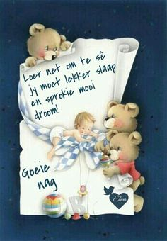 Goeie Nag, Good Night Greetings, Night Gif, Afrikaans Quotes, Sleep Tight, Good Night Quotes, Morning Greeting, Strong Quotes, Holiday Decor