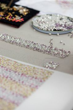 Savoir-faire of the Dior couture Spring-Summer 2015 collection