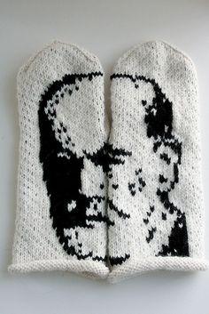 Freud mittens - 001 by indiehands, via Flickr