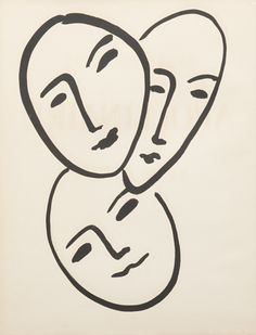 Henri Matisse, Apollinaire book  & René Leriche lithograph, 1952.