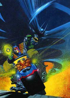Batman/Judge Dredd by Simon Bisley