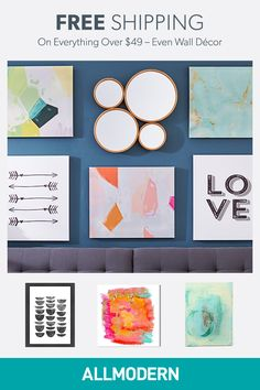 Sign up on AllModern and find wall art for your home.Visit AllModern today to explore our selection and for exclusive access to deals for your modern home. Free shipping on orders over $49!