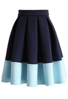 Blue Tones Airy Pleated Skirt - New Arrivals - Retro, Indie and Unique Fashion - Daily Fashion Outfits Skirt Outfits, Dress Skirt, Cute Outfits, Unique Fashion, Womens Fashion, Party Fashion, Fashion Fashion, Fashion Outfits, Blue Pleated Skirt