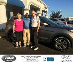 https://flic.kr/p/JQBocz   Congratulations Otis on your #Hyundai #Santa Fe Sport from Kim Carter at Fenton Hyundai!   deliverymaxx.com/DealerReviews.aspx?DealerCode=H248