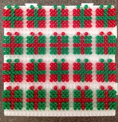 Christmas gifts hama perler beads By Alice - Vickan